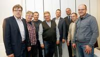 Volker Kolwes, Thomas Langer, Jürgen Kettler, Wolfgang Nöth- Ballhausen, Daniel Südmersen, Manuel Dierks, Jens Büttemeier, Simon Kühn