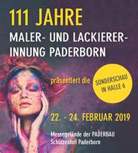 111. Jahre Maler- und Lackiererinnung Paderborn